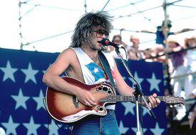 Jon Bon Jovi, front man of Bon Jovi