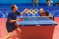 Photo of Jan-Ove Waldner vs Liu Guoliang