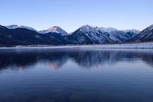 Twin Lakes near Leadville, Colorado