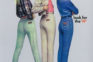 Wrangler Jeans Ad from 1960s