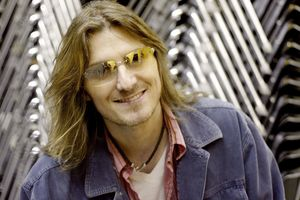Mitch Hedberg on April 7, 2004 at UCF Arena in Orlando, Florida, United States.