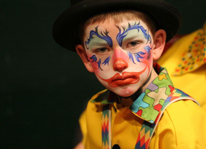 Face Painting Design -- Clown