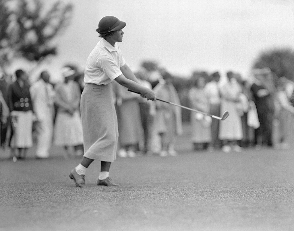 Patty Berg Swinging Golf Club