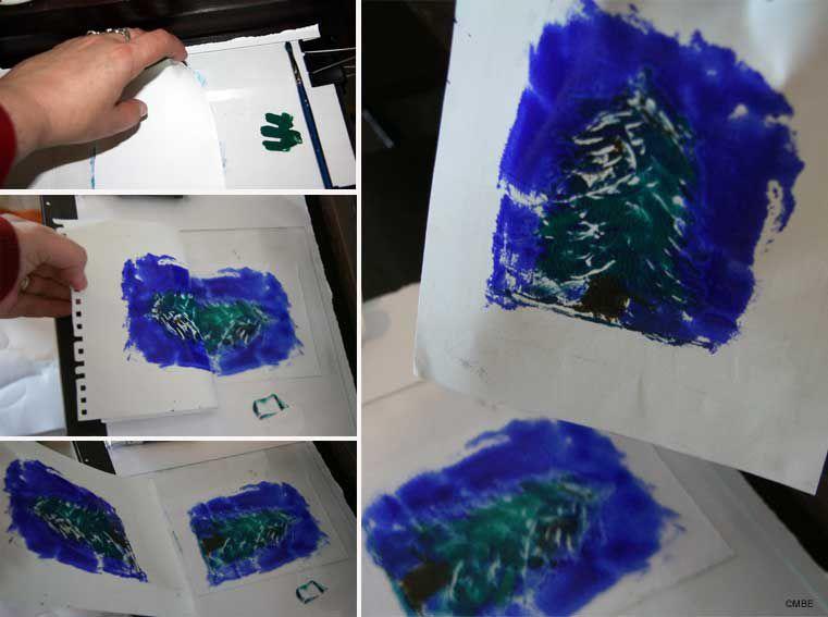 How to make a monoprint