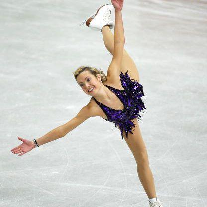 Jennifer Kirk - 2000 World Junior Figure Skating Champion and 2002 Four Continents Skating Champion