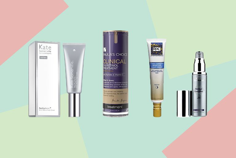 Over the counter retinol products