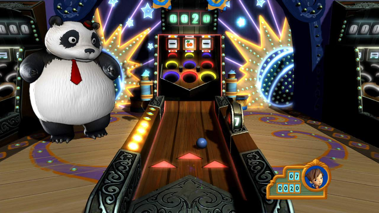 Gameplay of Carnival Island the PlayStation Move game