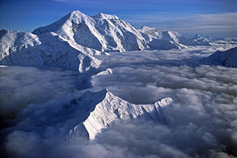 While lower than Denali, Sultana AKA Foraker is a much more difficult mountain to climb.