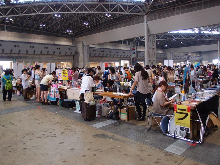 Doujinshi booths @ Comiket 84 - Summer 2013 @ Tokyo Big Sight