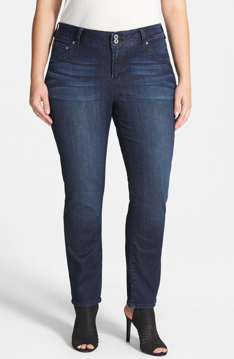 a6db5862b69 Lucky Brand Plus-Size Emma Straight Leg Jean