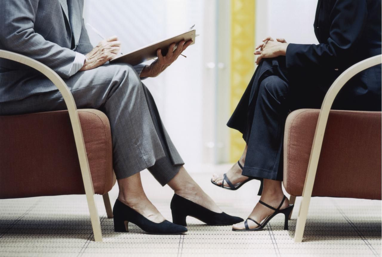 5494dde5c40 Job Interview Dress - Shoes Not to Wear