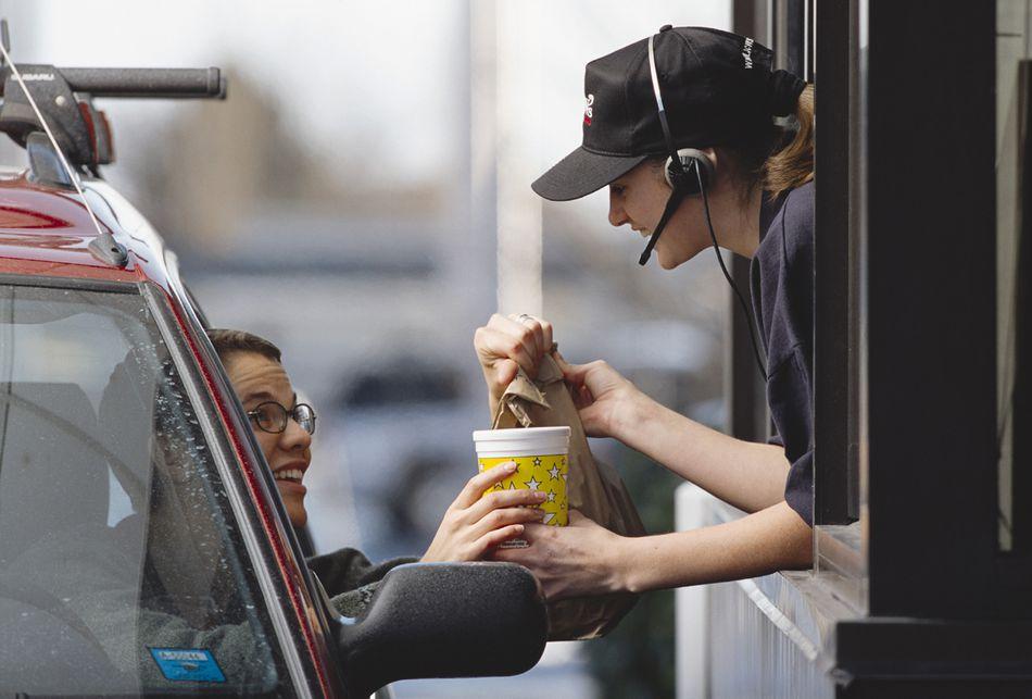 Fast Food Drive Thru Windo