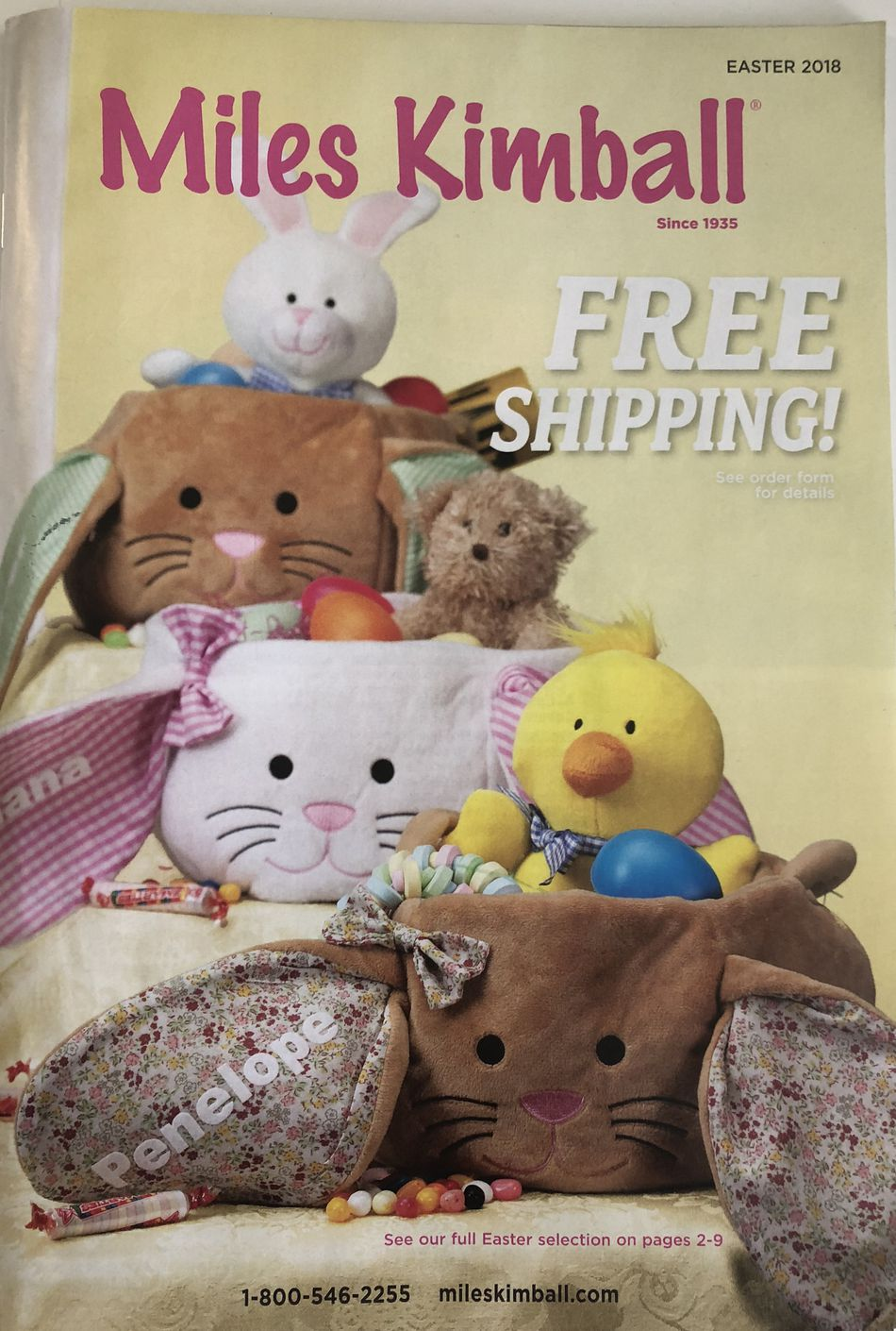 Get free mail order gift catalogs the easter 2018 miles kimball catalog negle Image collections