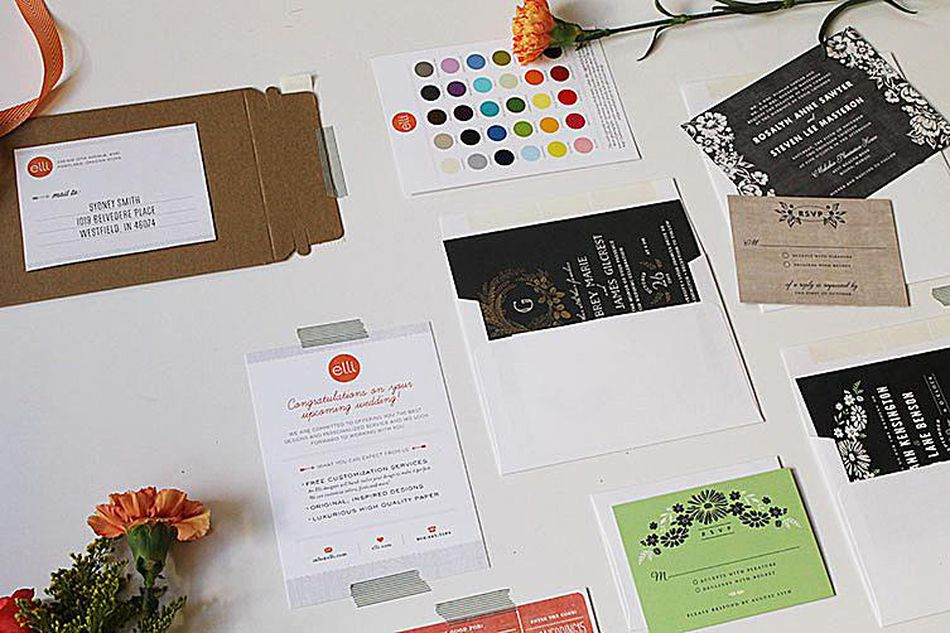 Where to request free wedding invitation samples a wedding invitation sample pack stopboris Image collections