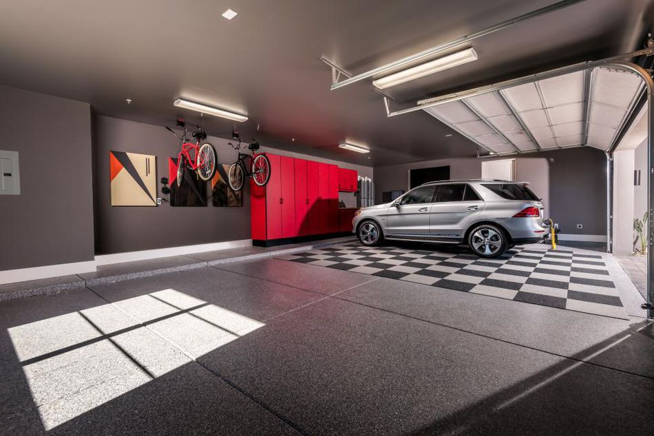 Image Of The 2017 Smart Home S Garage