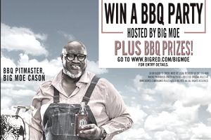 Big Moe and Big Red Team Up for a Summer Giveaway