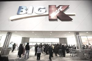 Waiting at Kmart for Black Friday deals