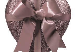 Image of a heart tied with a bow, illustrating About.com's Valentine's Sweepstakes List.