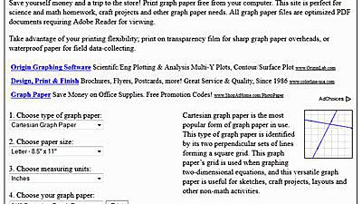 Where To Find Free Printable Graph Paper