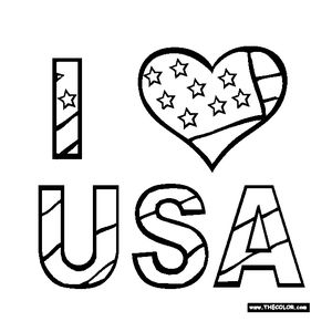 TheColors Free 4th Of July Coloring Pages