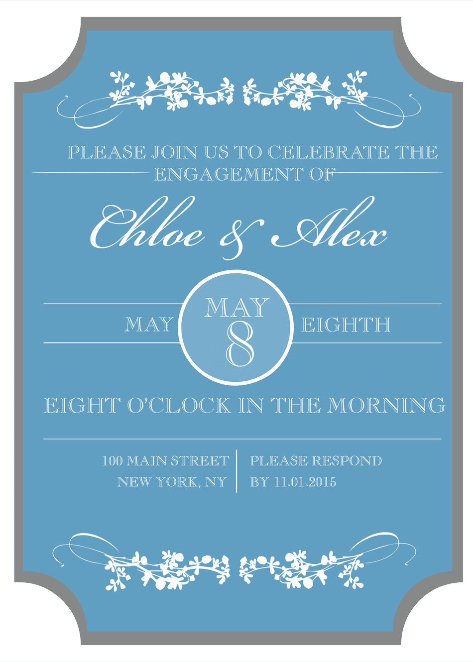 9 Free, Printable Engagement Party Invitations
