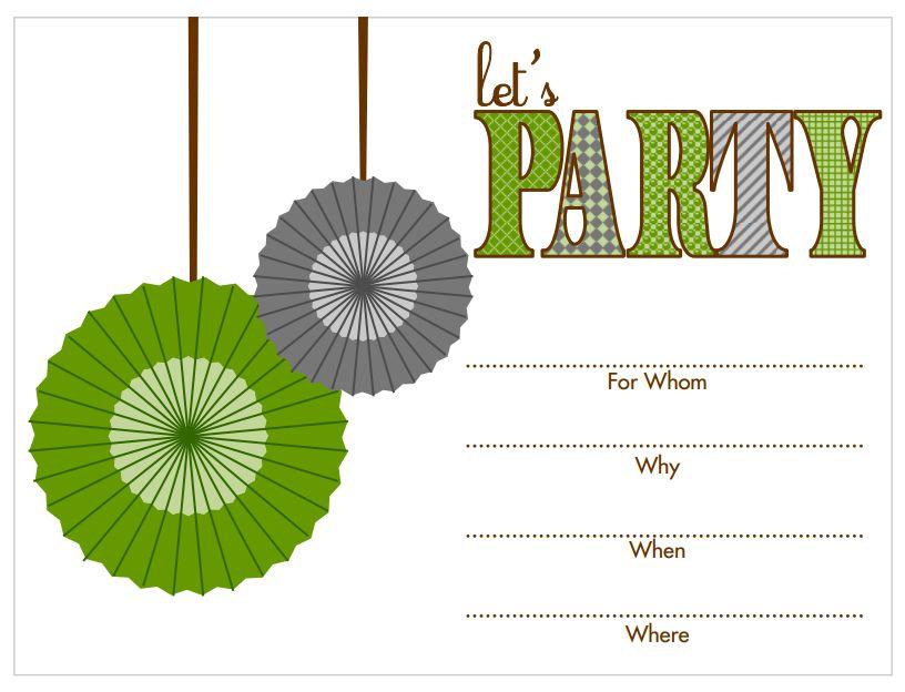 17 free printable birthday invitation templates stopboris Images