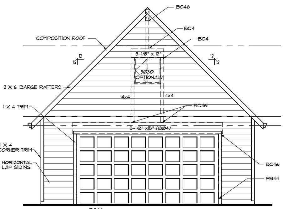 how to build a two car garage with a workshop
