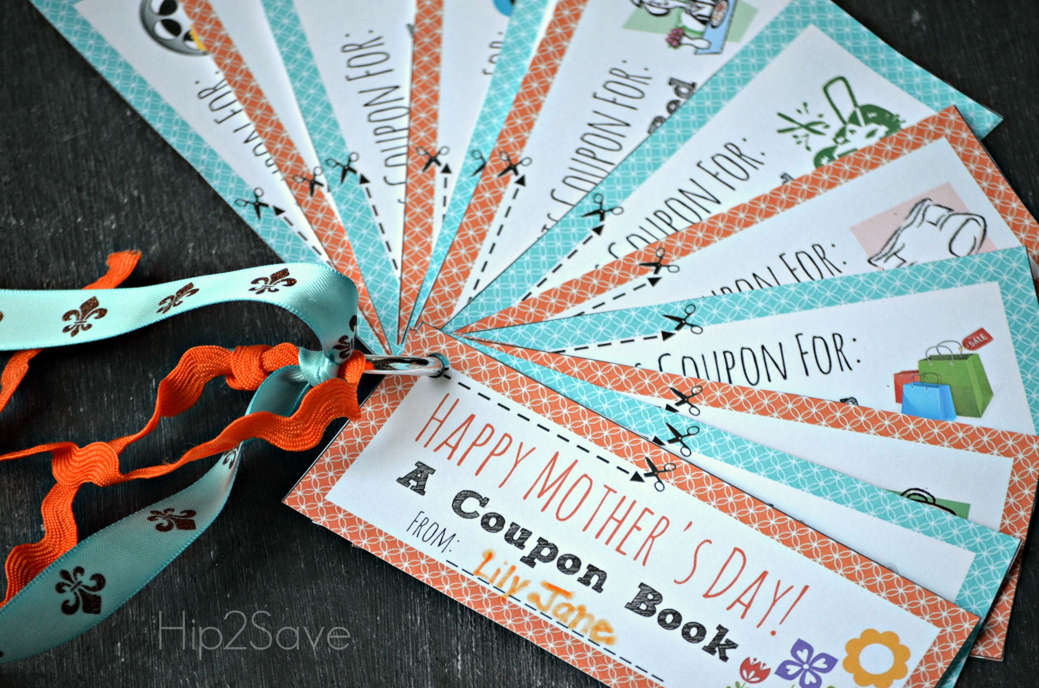 13 sets of free printable mother s day coupons