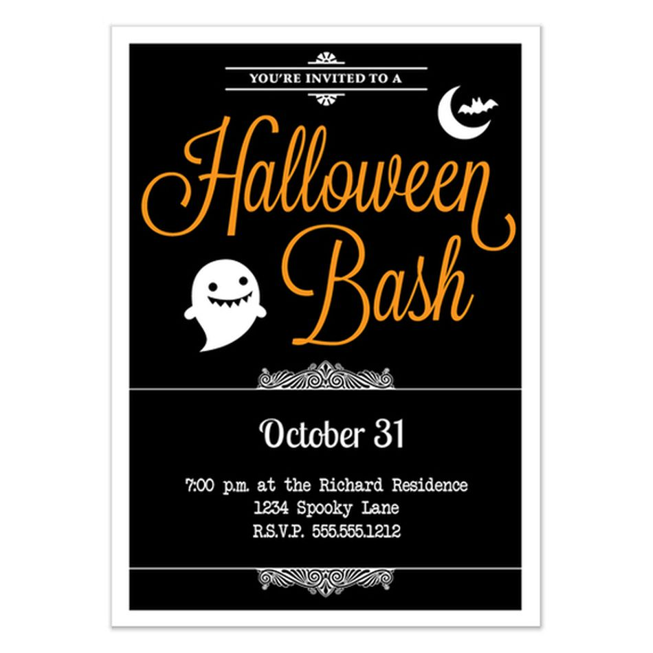 Free Online Halloween Party Invitations