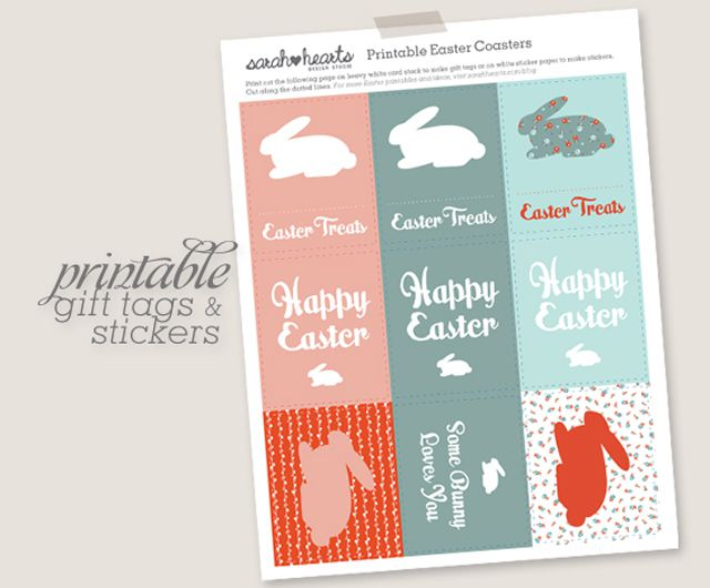 17 free easter printables for your home and kids negle Images