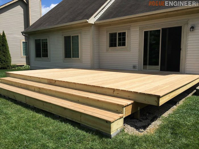 9 free do it yourself deck plans malvernweather Gallery