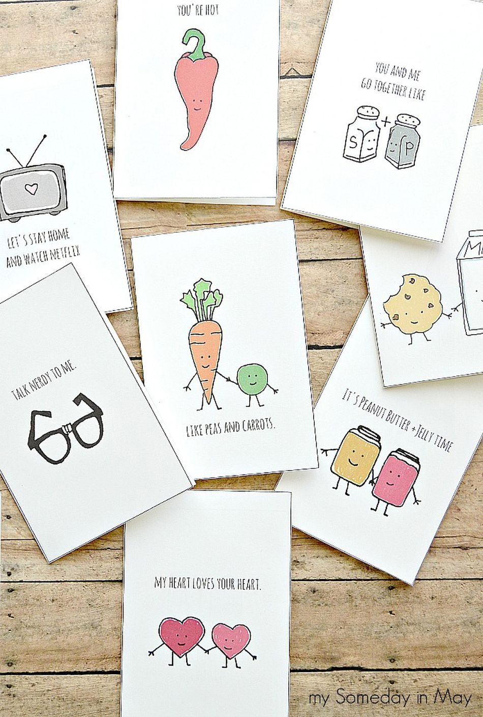 54 Funny and Free Valentine\'s Day Cards You Can Print