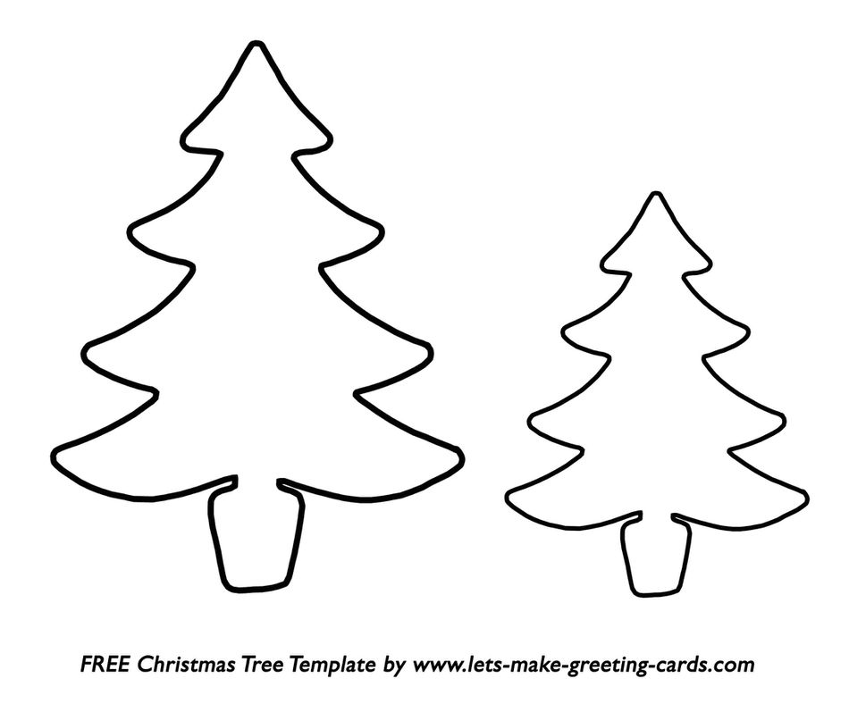 37 christmas tree templates in all shapes and sizes lets make greeting cards printable christmas tree templates m4hsunfo