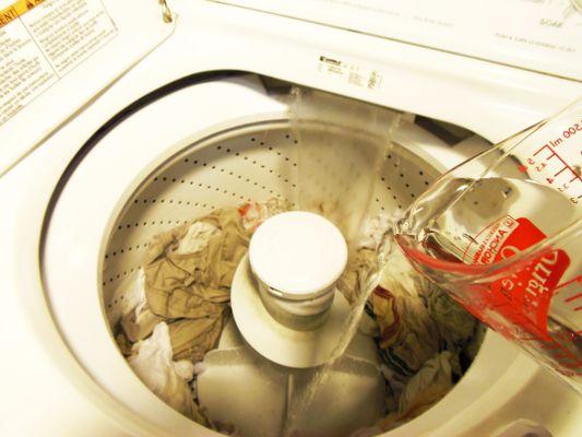 Vinegar Laundry Booster