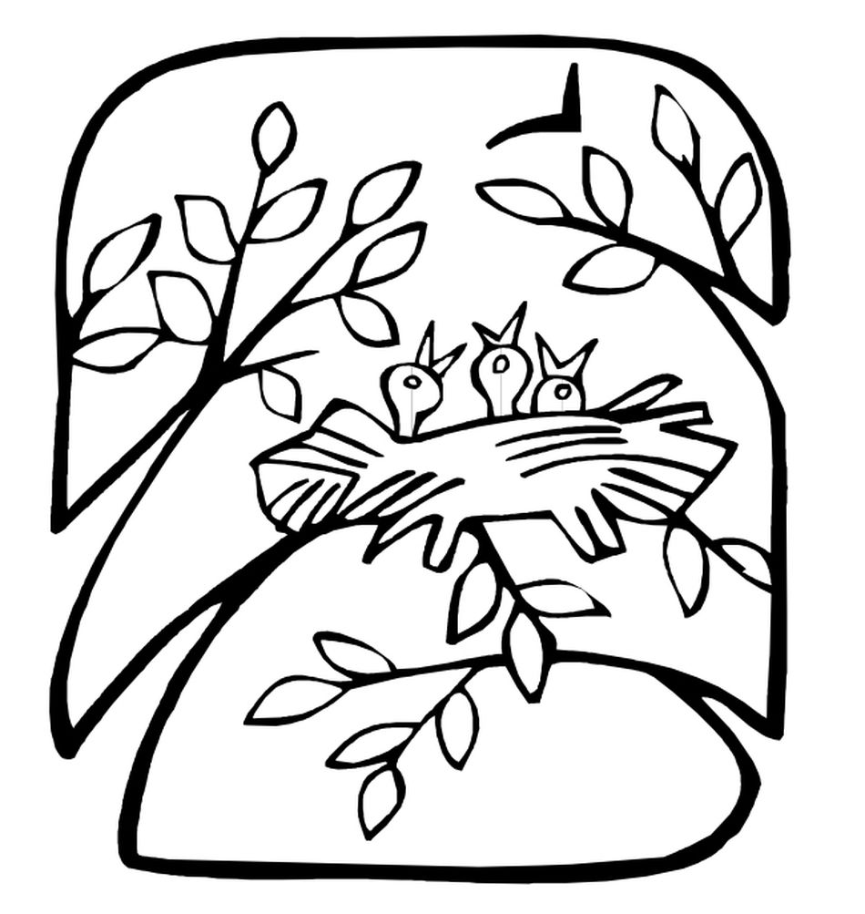 Spring Coloring Pages At Apples 4 The Teacher