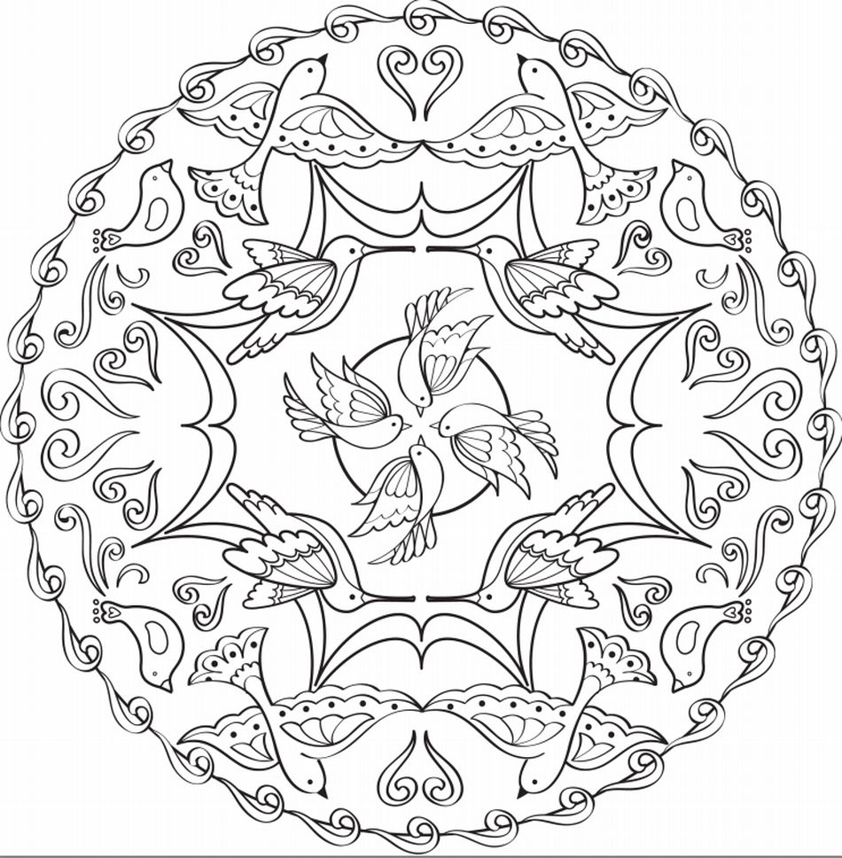 Coloring Pages For Adults From Faber Castell