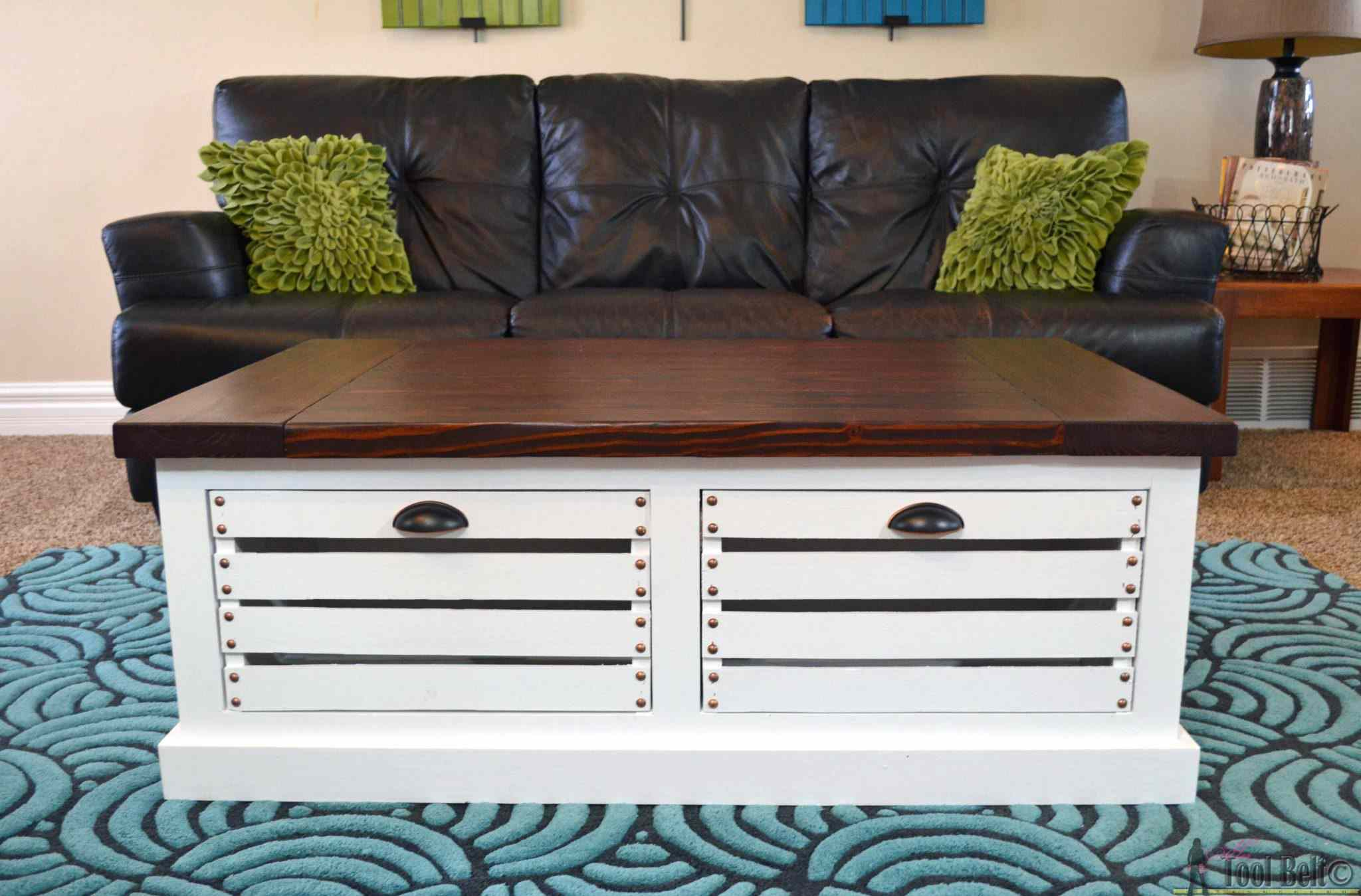 21 free diy coffee table plans you can build today