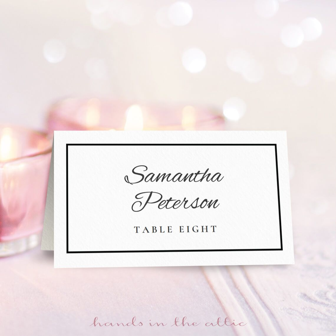 21 Free Wedding Place Card Templates Within Wedding Pop Up Card Template Free