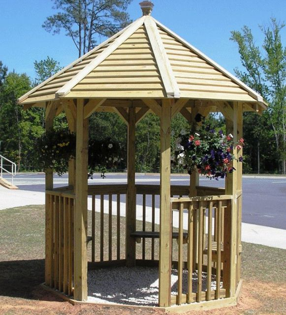 Brand new 11 Free Wooden Gazebo Plans You Can Download Today WH05