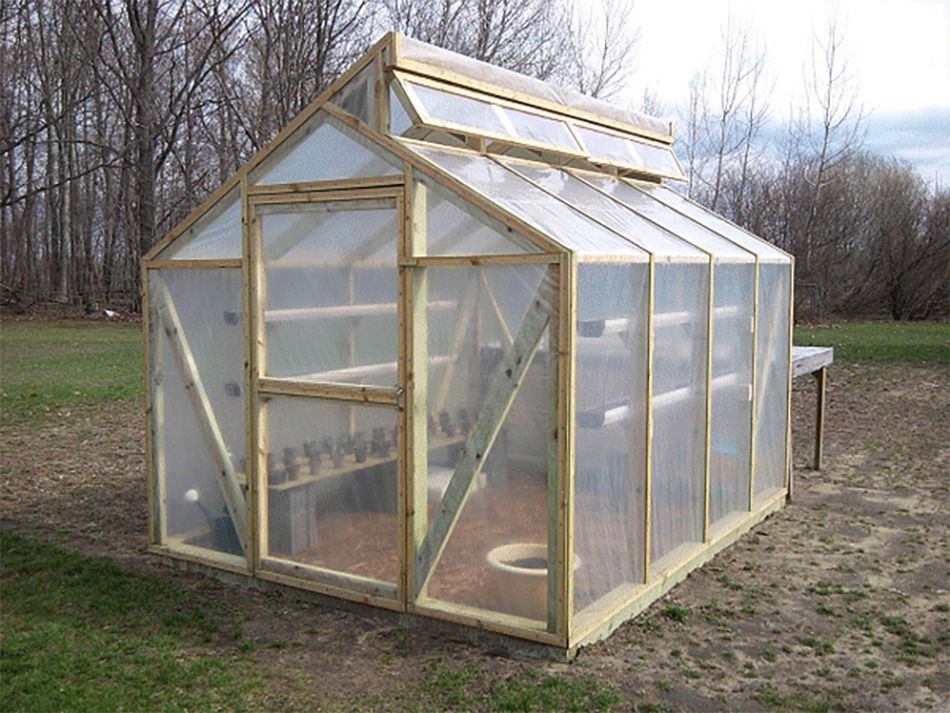 13 free diy greenhouse plans buildeazys free diy greenhouse plan solutioingenieria Image collections
