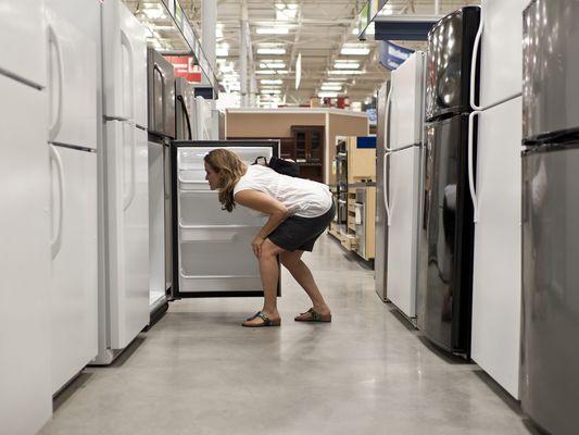 Shopping for a refrigerator