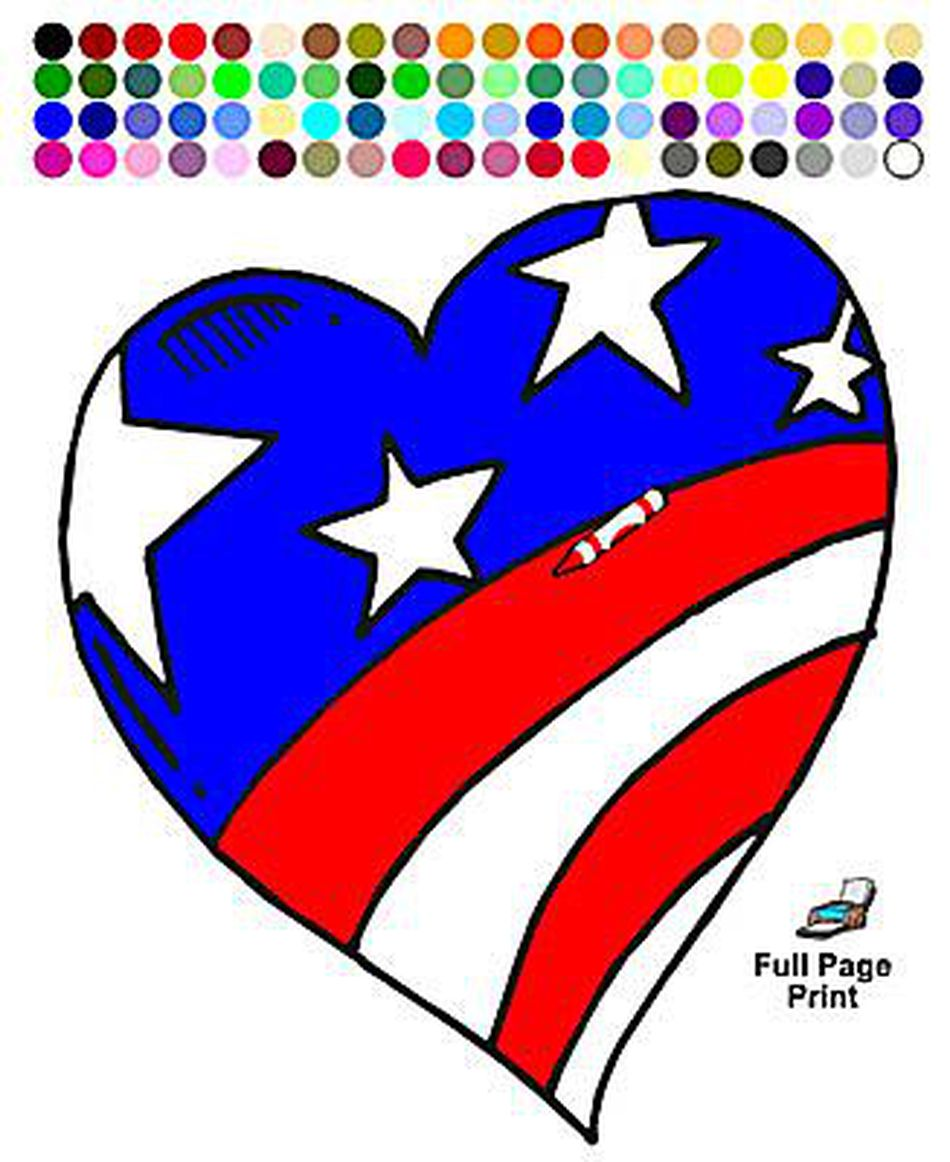 87 Free, Printable Memorial Day Coloring Pages
