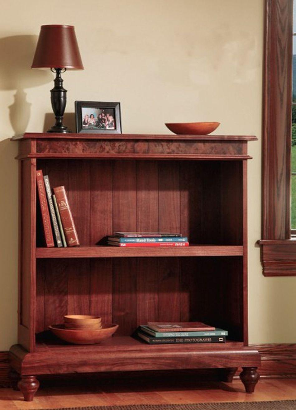 Walnut Bookcase Plan From Rockler