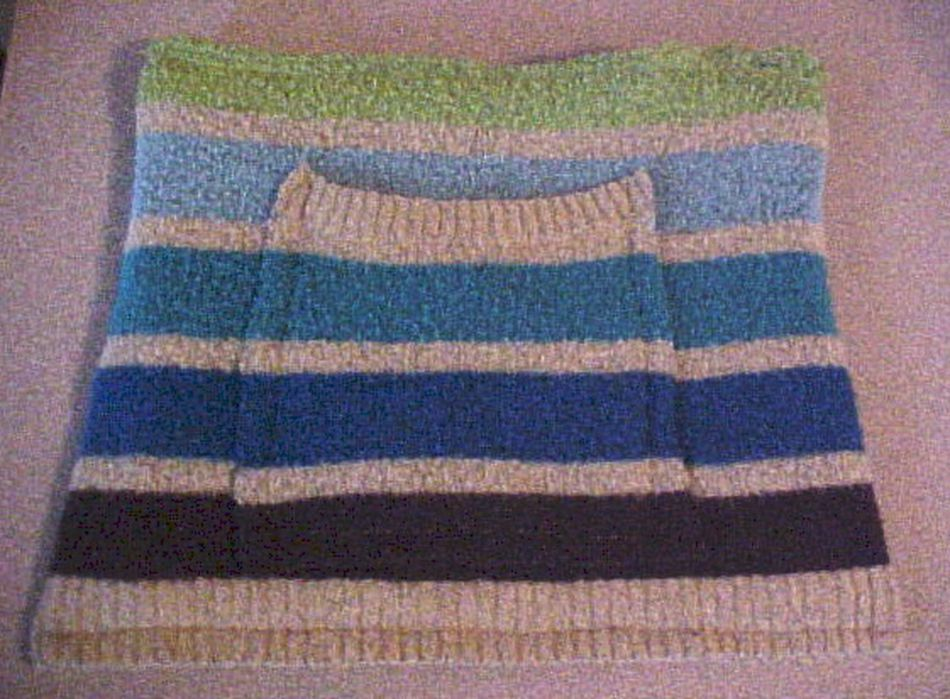 how to make a hobo bag out of a sweater