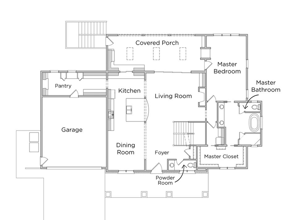 Floor Plan For The First Of Hgtv Smart Home 2016