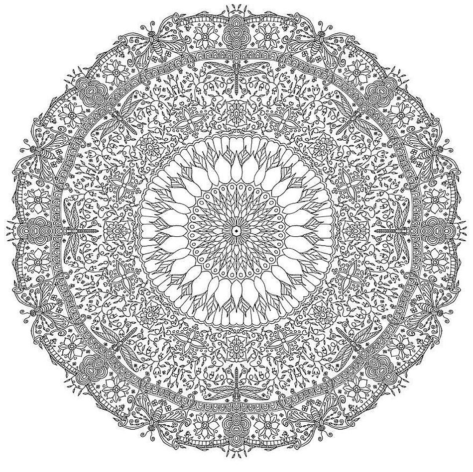 1,075 Free, Printable Mandala Coloring Pages for Adults