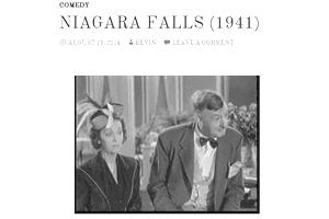 Screenshot of the movie Niagara Falls at Retrovision.tv
