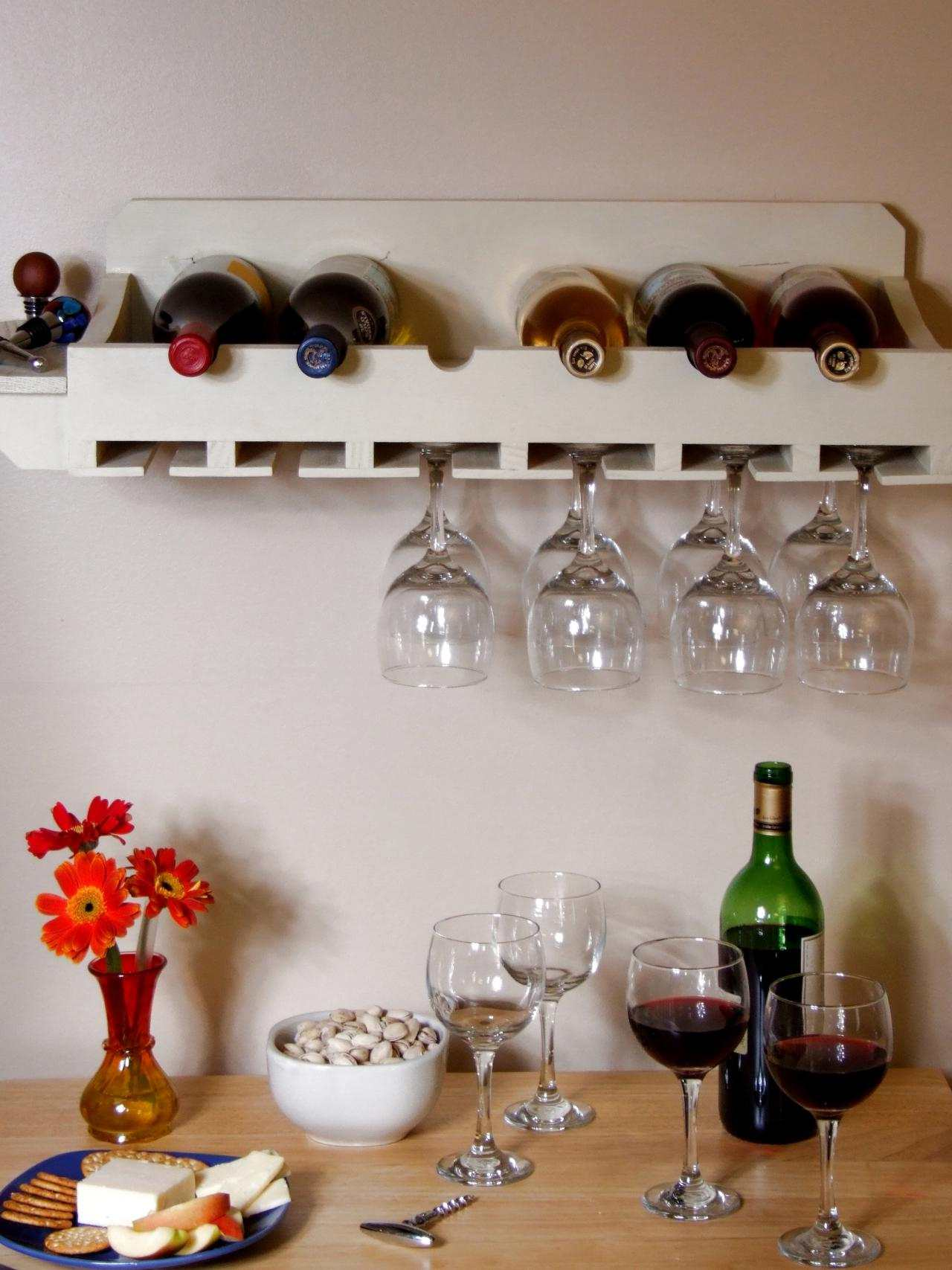 Beautiful Wine Glass Hanger Diy
