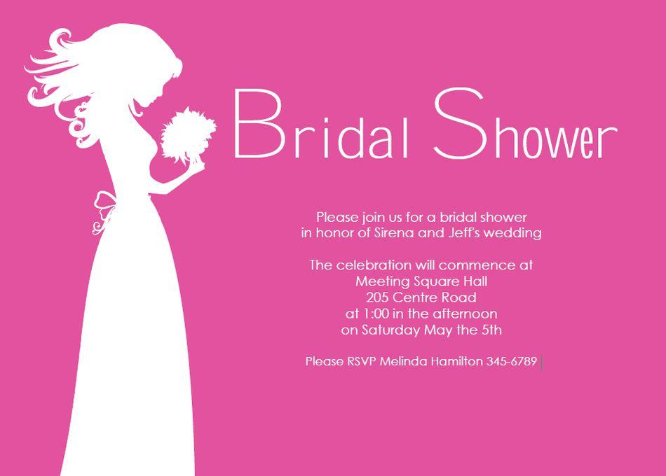 Free printable bridal shower invitations printable bridal shower invites from do it yourself invitations maxwellsz