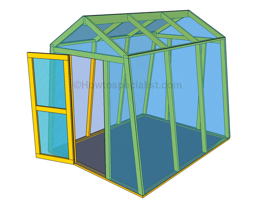 13 free diy greenhouse plans free plan to build a small greenhouse from how to specialist solutioingenieria Image collections